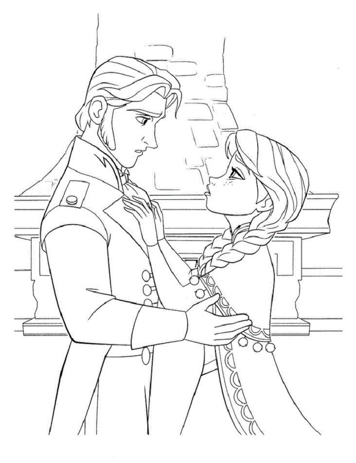 Mejores 13 imágenes de Dibujos para pintar Frozen en Pinterest ...