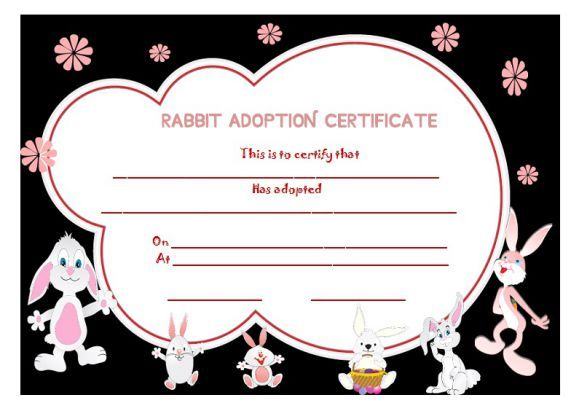 Best Adoption Certificate Template Images On