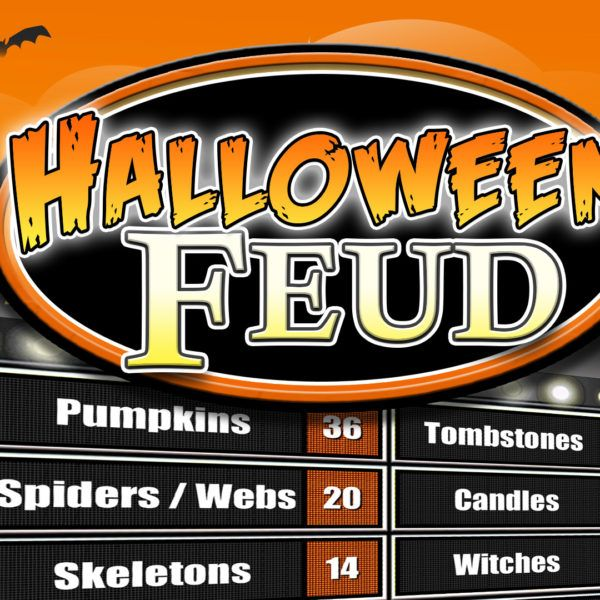 Family Feud Customizable Powerpoint Template Youth Downloadsyouth Downloads Halloween Family Feud Family Feud Diy Family Games Family feud online template