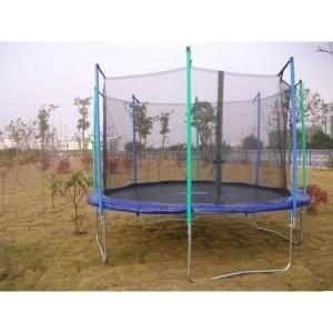 Cama elástica tampolín niños 396 cm con red en http://www.tuverano.com/comprar-cama-elastica/328-trampolin-ninos-396.html