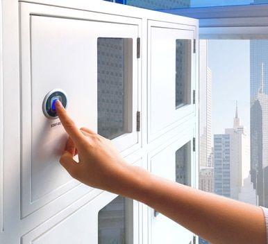 fingerprint / biometric lock
