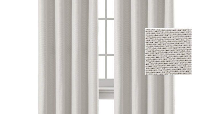 H Versailtex Linen Curtains White 84 Room Darkening Light Blocking Curtains Thermal Insulated Heavy Weight Textured Rich Linen Curtains For Bedroom Living Room