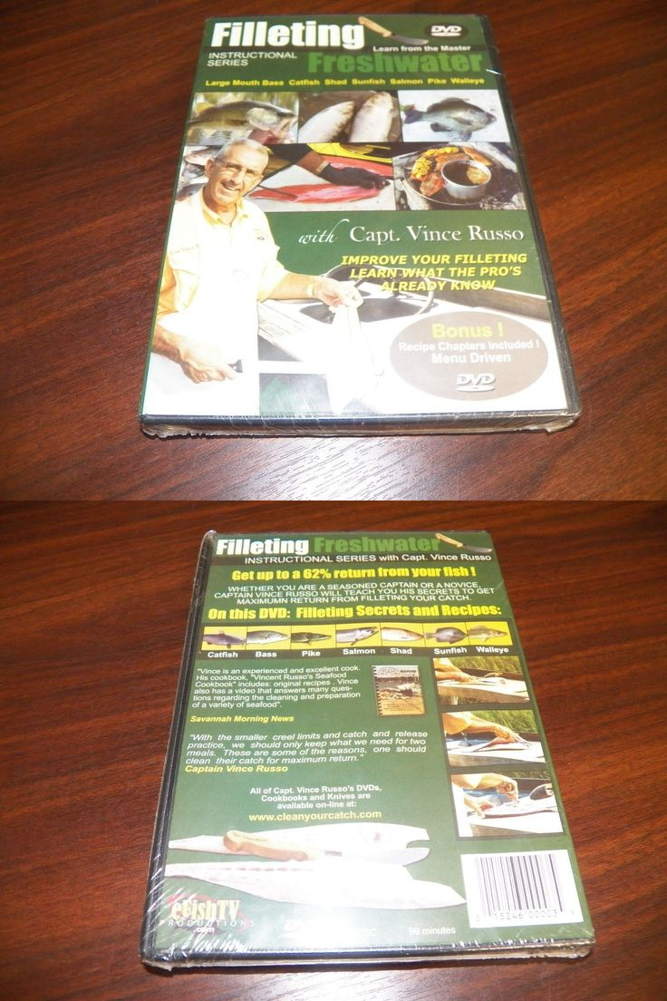 Books and Video 62155: Filleting Saltwater 2 Instructional Fish Fillet Capt Vince Russo Fishing Dvd New -> BUY IT NOW ONLY: $79.95 on eBay!
