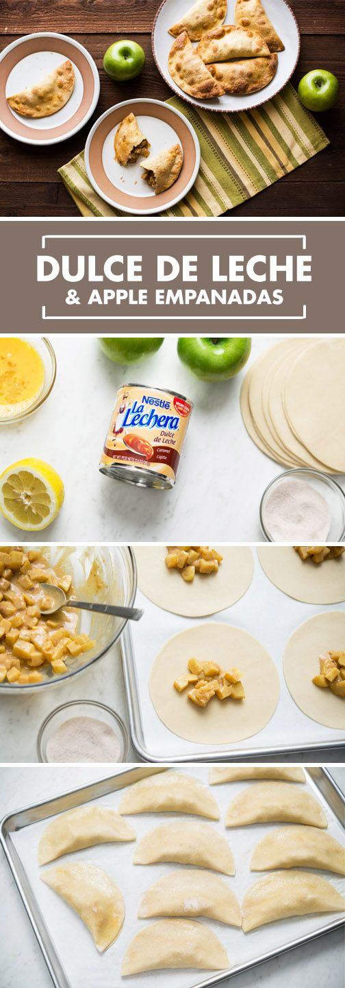 An easy fall dessert recipe to share with your family? Yes, please! La Lechera Dulce de Leche and apples create the perfect combination. These Fresh Dulce de Leche Apple Empanadas are very simple to make and your family will be thrilled with how they taste.