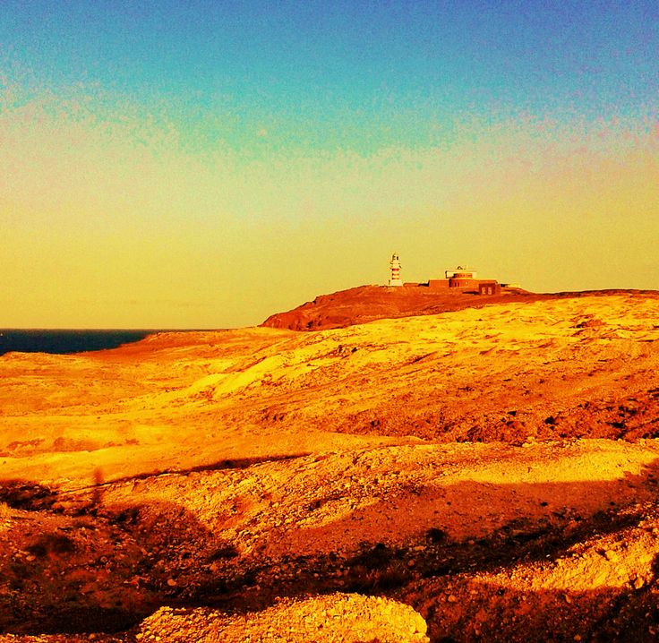 Atardecer en el Faro de Arinaga