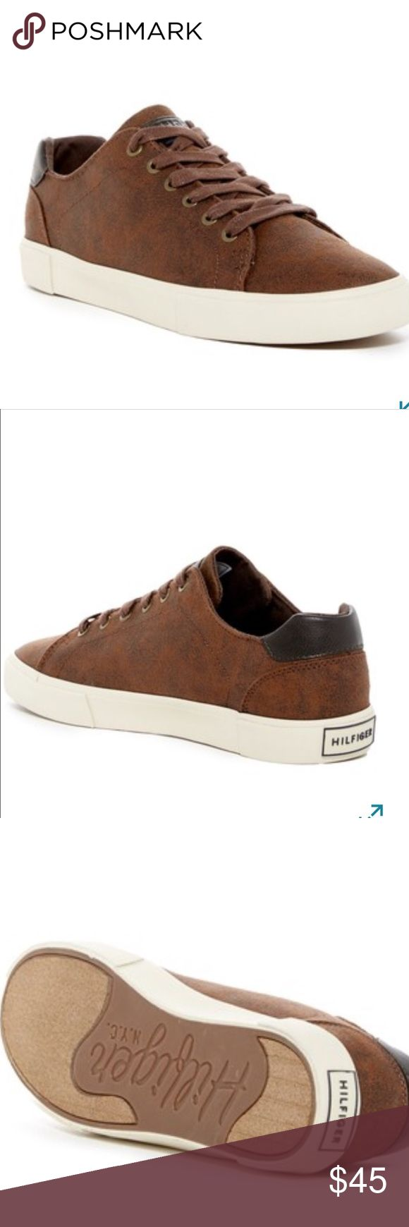 Tommy Hilfiger brown sneakers Brand new size 9 Tommy Hilfiger sneakers. Tommy Hilfiger Shoes Sneakers