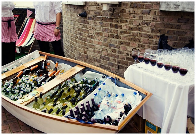 Real London Seaside Themed Wedding: Erin & Damon. Devon House.