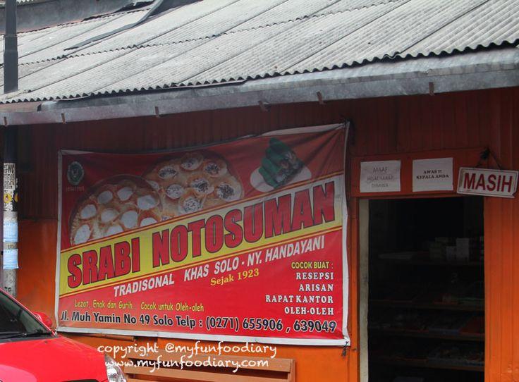 Serabi Notosuman Khas Solo | myfunfoodiary.