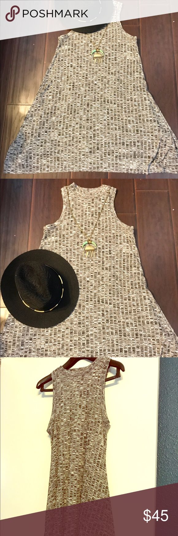 Maeve Anthropologie brand high neck tank dress Classic high neck flattering tank dress. Popular Anthropologie brand Maeve. Fully lined, poly and rayon blend fabric. In excellent condition. Anthropologie Dresses