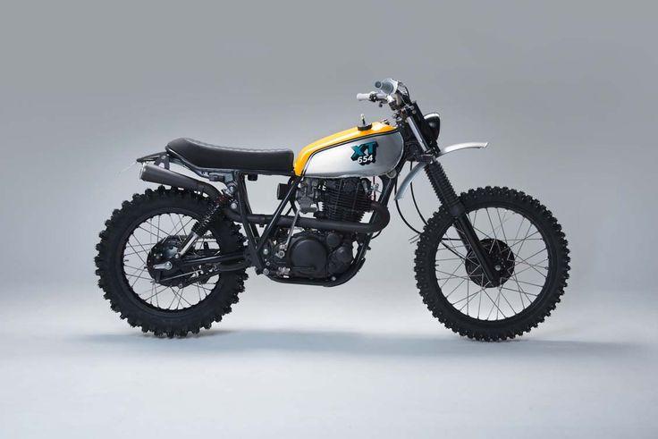 Yamaha XT500 Scrambler by 654motors #motorcycles #scrambler #motos | caferacerpasion.com