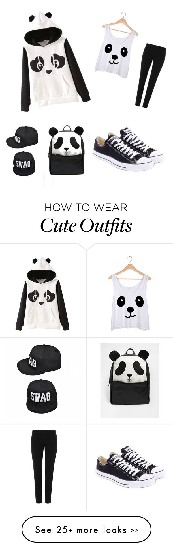 """""""Panda Lover Outfit"""" by mckenzieiiams on Polyvore"""