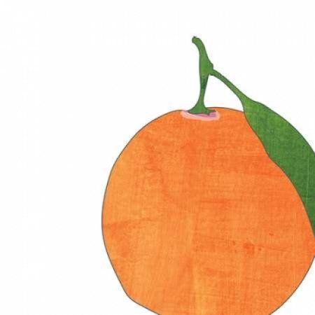 Watercolor Orange Canvas Art - Alli Rogosich(24X24)