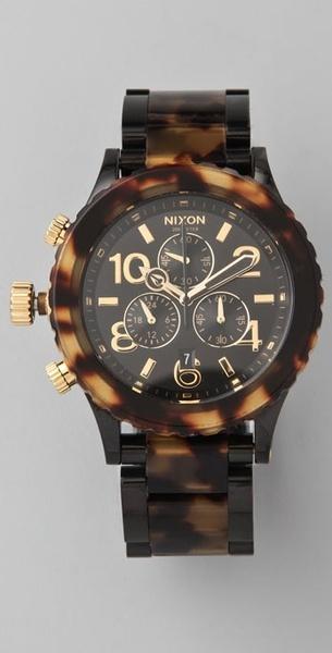 Nixon ~ Oversized Chrono Watch