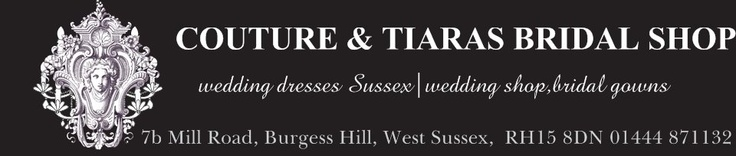 welcome to our bridal shop in Sussex