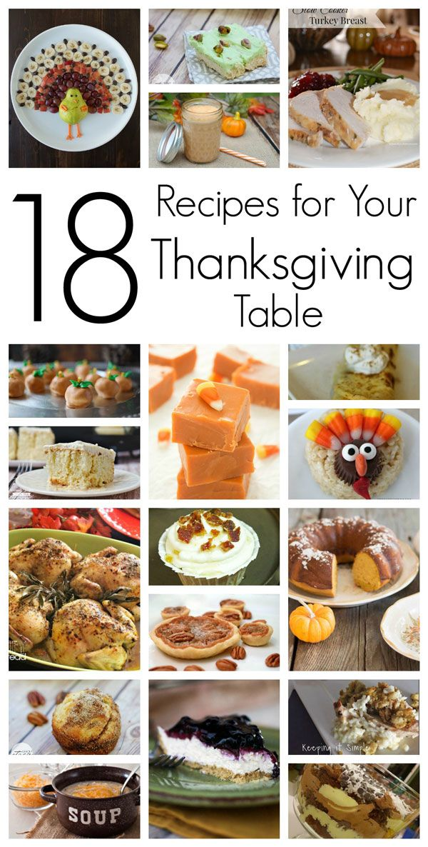 Easy Thanksgiving Recipes to make your dinner a success!