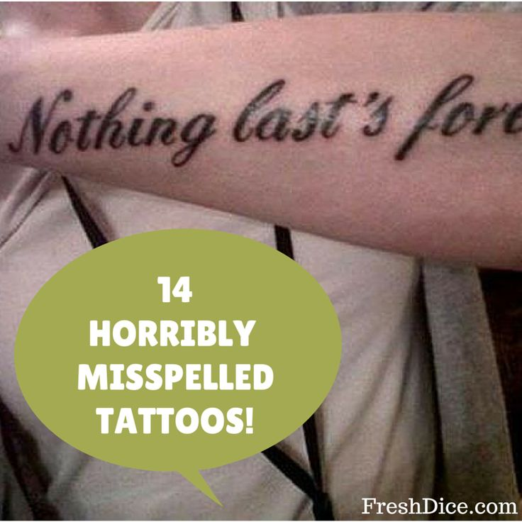 Best 25 Quote Tattoo Placements Ideas On Pinterest: 25+ Best Ideas About Misspelled Tattoos On Pinterest