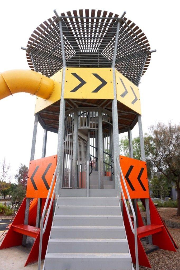 HOT: Ashcroft Park Aircraft Control Tower playground, Mandrel Drive, Williams Landing http://tothotornot.com/2016/07/hot-ashcroft-park-aircraft-control-tower-playground-mandrel-drive-williams-landing/