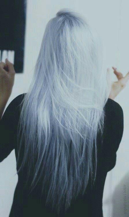grey blue hair - Google Search