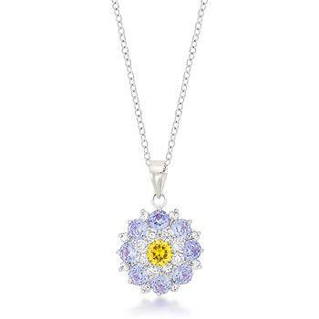 Elegant Floral Pendant