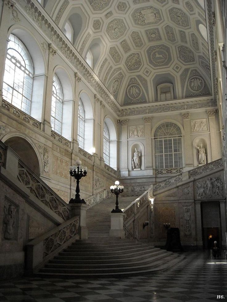 The Royal Palace. Naples. Italy.   http://hadrian6.tumblr.com