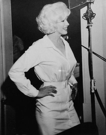 Marilyn Monroe on the set of 'Something's Got to Give' - 1962