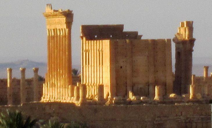 Temple of Bel at sunrise