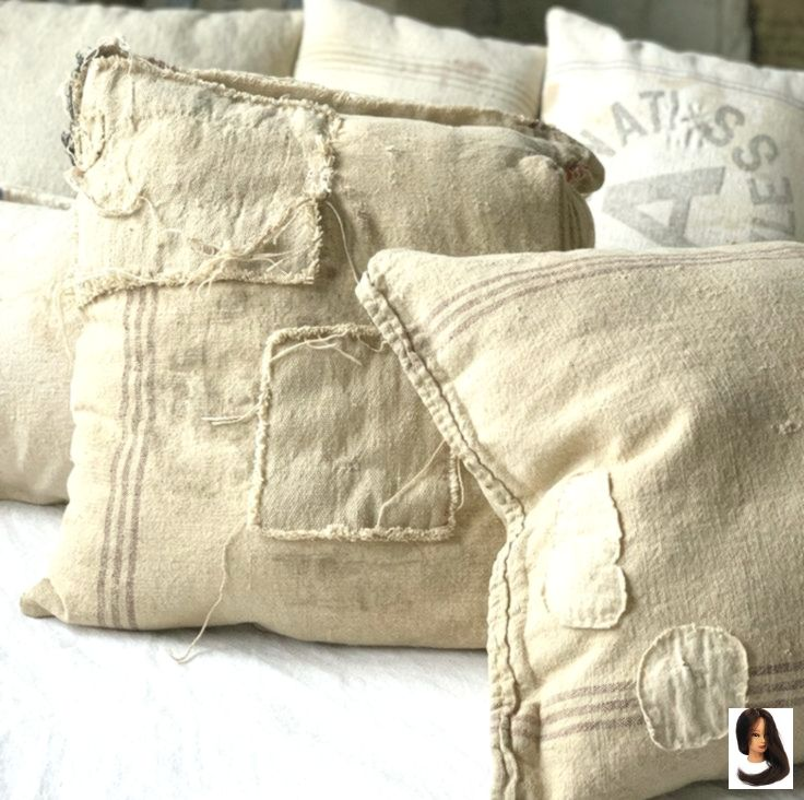 Antik At Home Decor Pillows Bauernhaus Bettwasche Dekor
