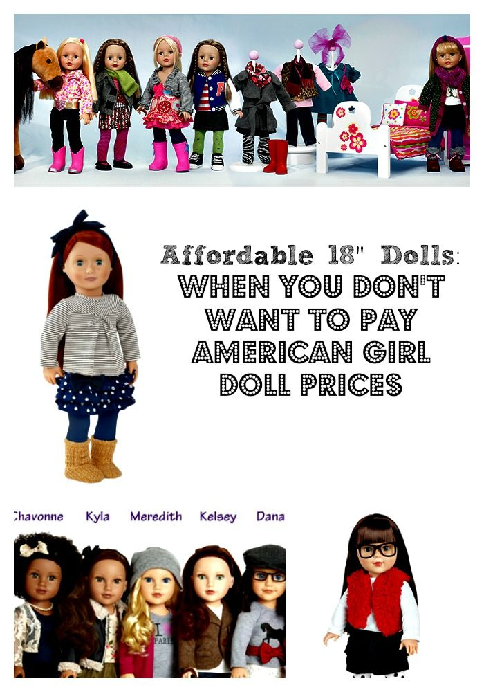 Affordable 18″ Dolls: When You Don't Want to Pay American Girl Doll Prices