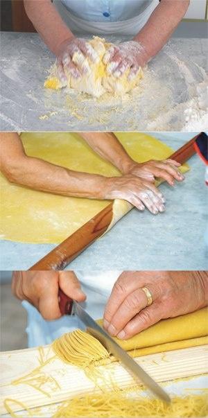 Ecco i #Maccheroncini di Campofilone! Pasta all'uovo #IGP, tipica del Comune di Campofilone.  Scopritene di più su: http://www.comune.campofilone.fm.it/