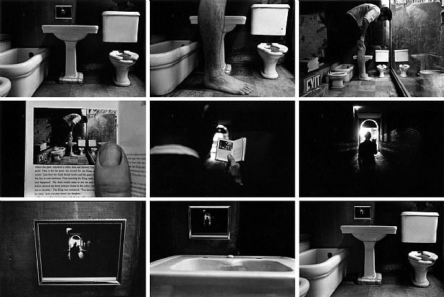 Duane Michals - Things Are Queer, 1972 #photo