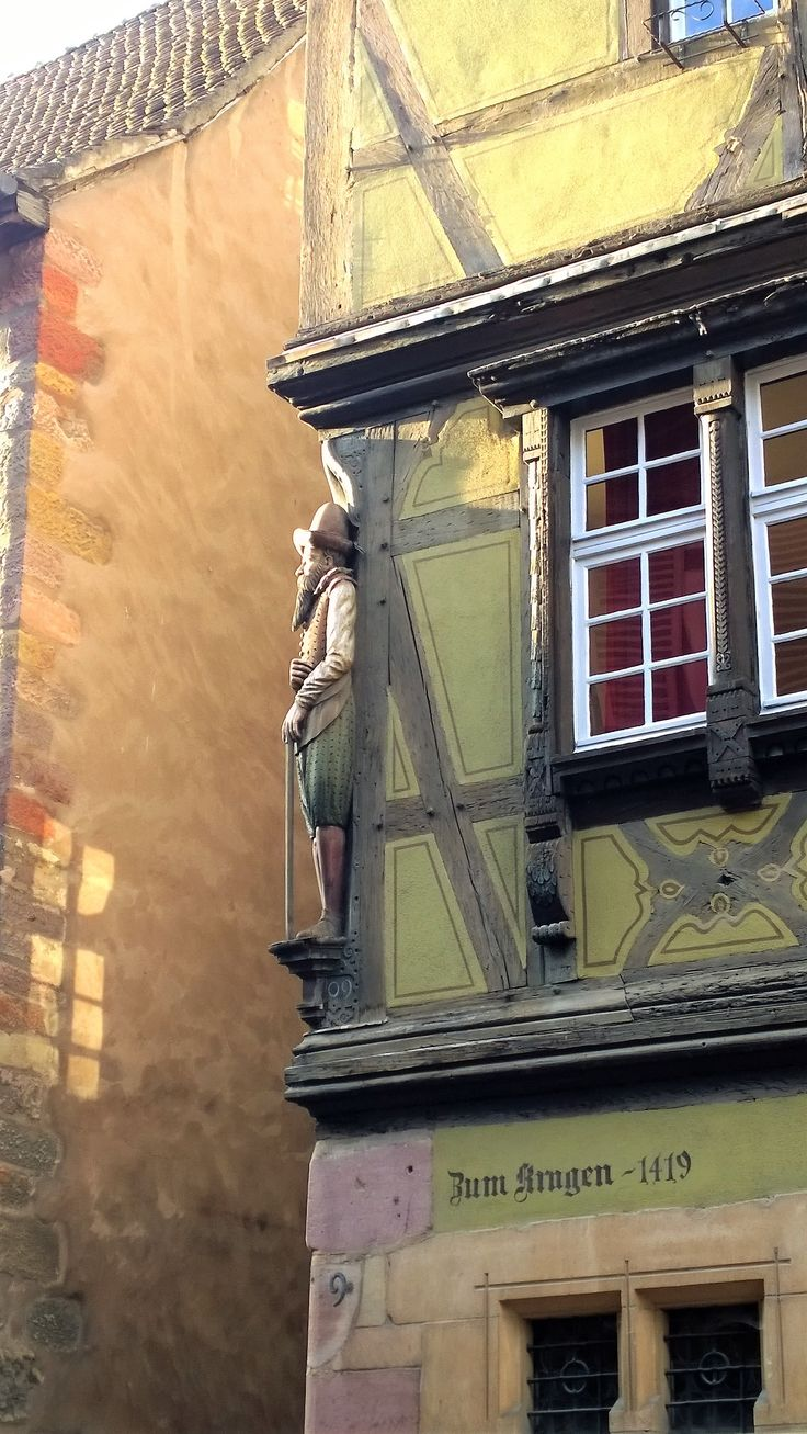 A stroll into the past of Colmar, France.