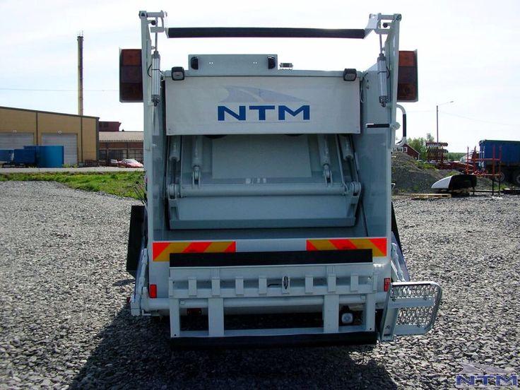 NTM KMini KMidi małe śmieciarki z tylnym załadunkiem pojemników, small refuse truck, klein Kommunalfahrzeuge, Benne a ordures, Recolectores, piccoli camion, smidiga renhållningsbil