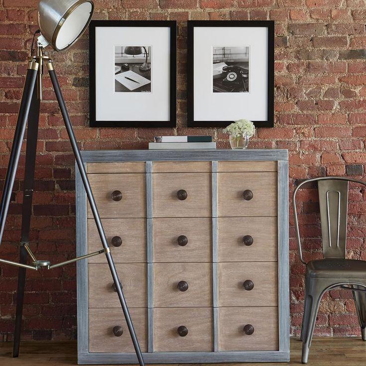 Atelier design rustique meuble de rangement en bois for Meuble bouclair