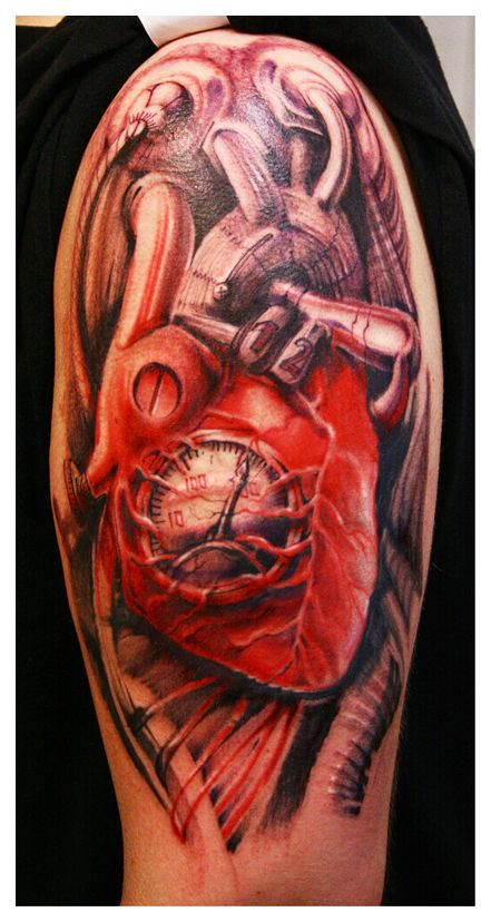 Biomechanical Heart Tattoo Pictures: 17 Best Images About Tattoo Ideas On Pinterest
