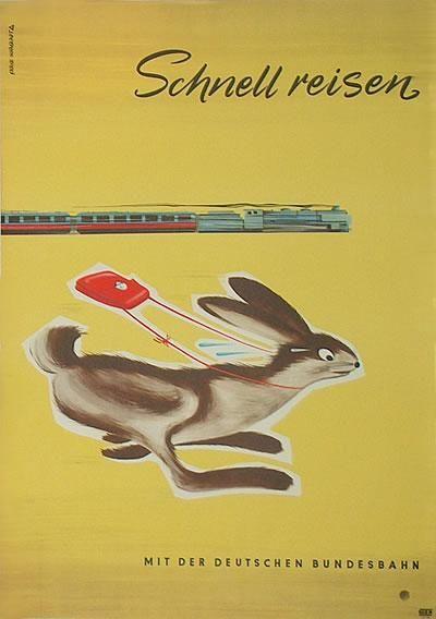DB - Schnell reisen mit der Deutschen Bundesbahn. $125
