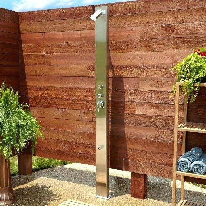 Outdoor Showers Stainless Steel Australia Shower Panels Outdoor Shower Pool Shower