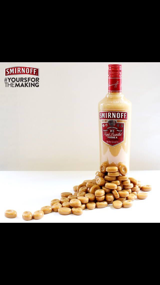 Butterscotch vodka! Exactly the same method as all other flavoured vodkas, drop werthers originals into the vodka, leave 2-3 days for the sweets to dissolve, strain and then bottle, voila!