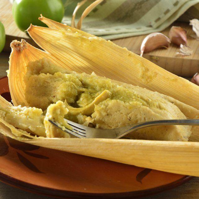 Tamales Verdes Fáciles