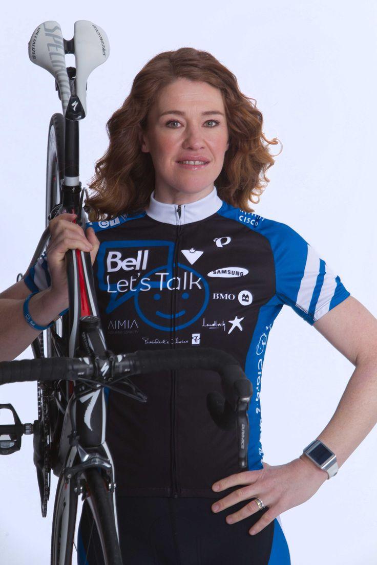 clara hughes canadian female cyclist photos | Clara Hughes to Ride the 2014 PGAMO