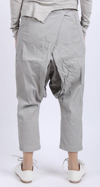 rundholz dip - Hose mit Falte Stretch grey pigment - Sommer 2016 - stilecht - mode für frauen mit format...