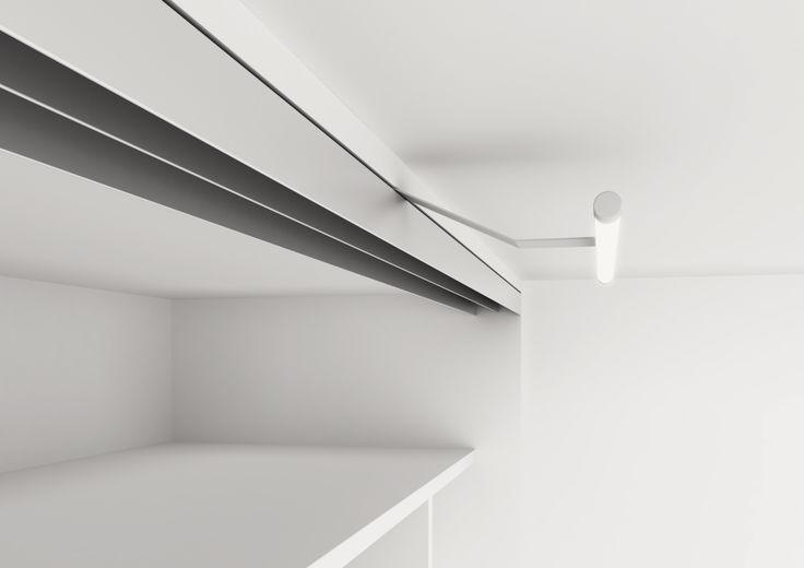 Belysning i garderoben