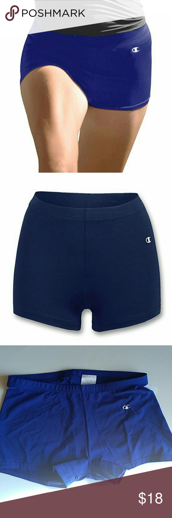 Champion Women's Performance Compression Briefs Keep your cool underneath it all. Try these Champion women's briefs, featuring compression plus moisture control. Double Dry. Royal Blue 89% Nylon, 11% Spandex Champion Shorts