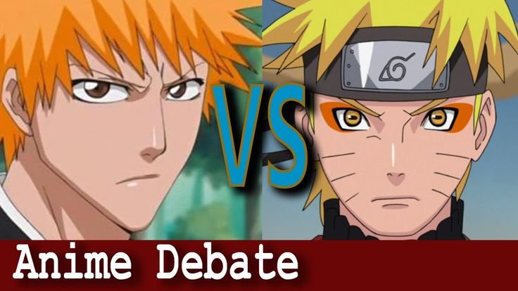 Bleach vs Naruto Shippuden | Anime Debate