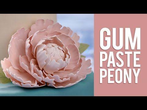 Gum Paste Rose Cupcakes - YouTube
