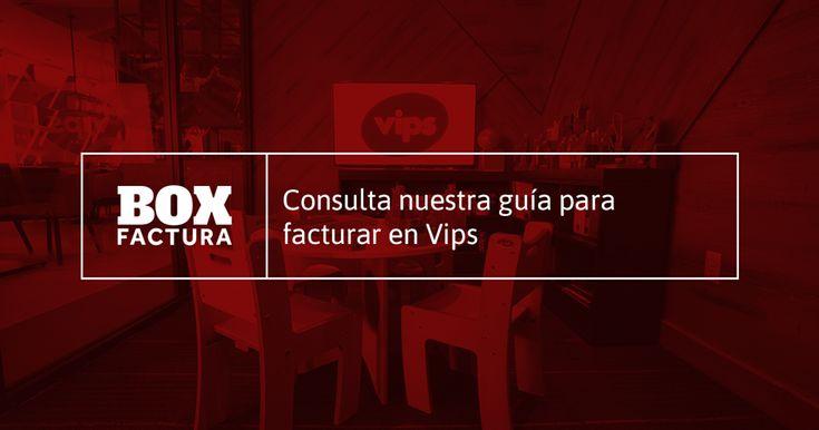 Te presentamos los pasos para facturar tu consumo en Vips