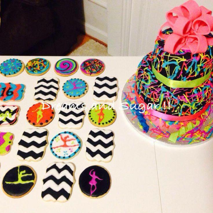 coockies and neon cake !