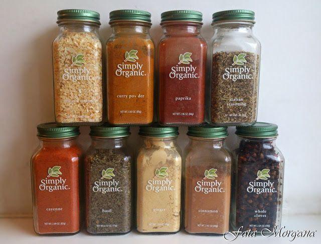 fata-morgana: Моя коллекция специй Simply Organic