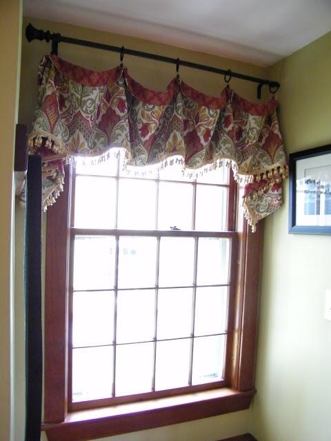 maison decor wallpaper winner and a window treatment curtain valances drapes