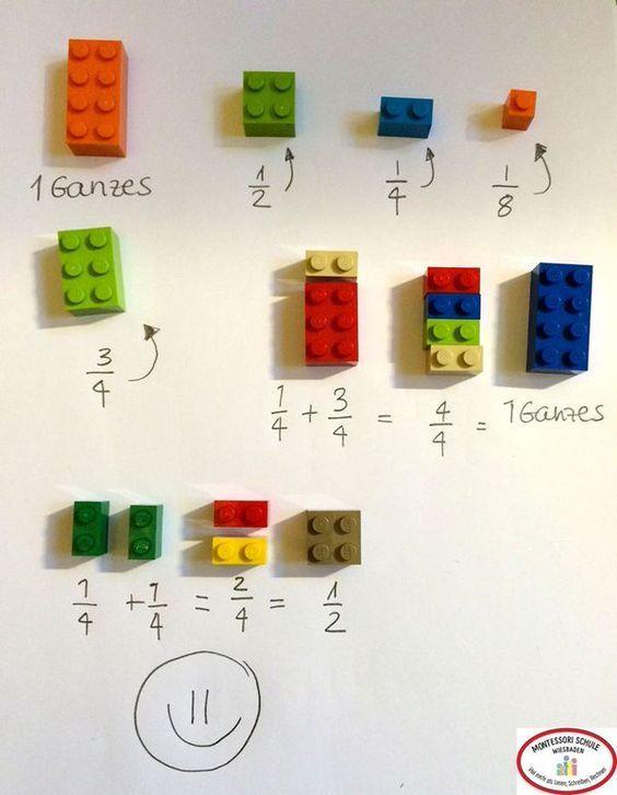 Bruchrechnen mit LEGO :)