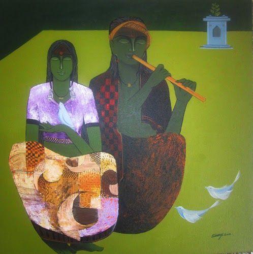 "18th – 29th Mar.'14: Pradarshak presents ""Rhythm of Life"" Solo Exhibition by Vinay Bagde."